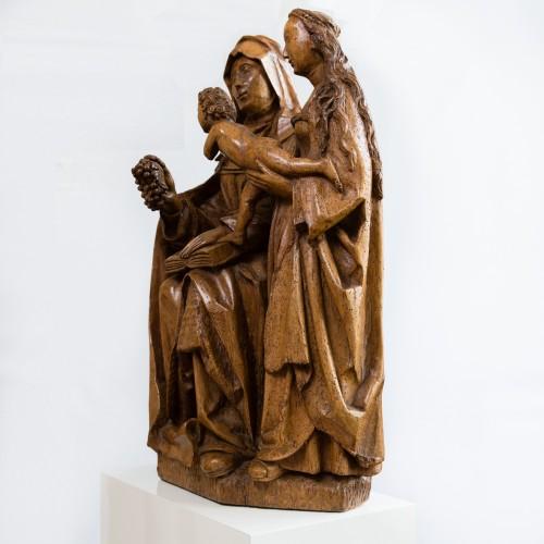 Sculpture  - Saint Anna Selbdritt