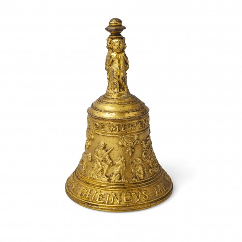 A Gilded bronze Table Bell