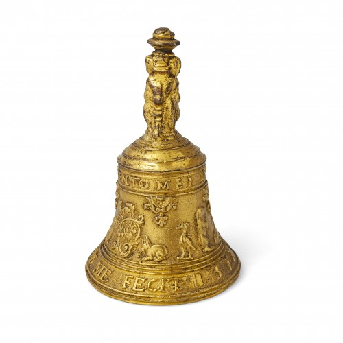 Decorative Objects  - A Gilded bronze Table Bell