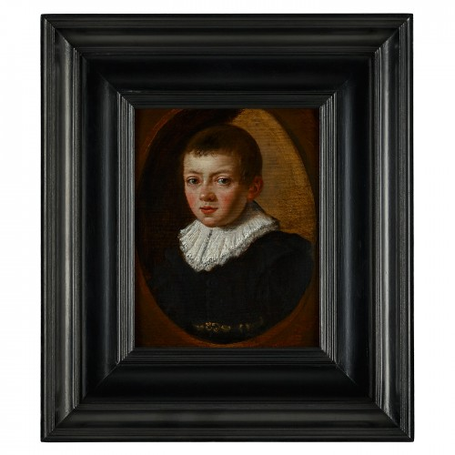 A Portrait of a Young Boy, Dutch Master ca. 1630 - Paintings & Drawings Style