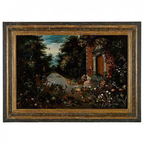 Vertumnus wooing Pomona, An Allegory of Harvest or Plenty - Paintings & Drawings Style