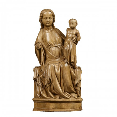 The Enthroned Virgin and Child circa 1350