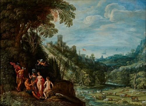 The Judgement of Paris - David Teniers l'Ancien ( 1582 –1649)