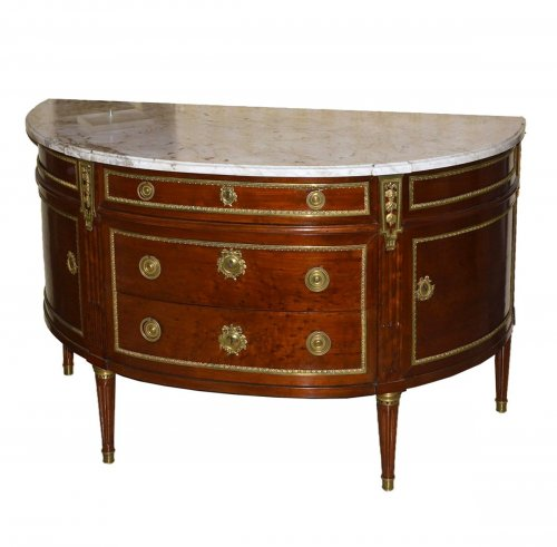 French, Louis XVI period (Neoclassical) commode