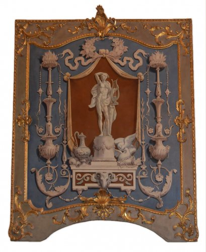 Set of four, Italian, Neoclassical period, boiserie panels - Architectural & Garden Style