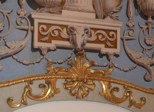19th century - Set of four, Italian, Neoclassical period, boiserie panels