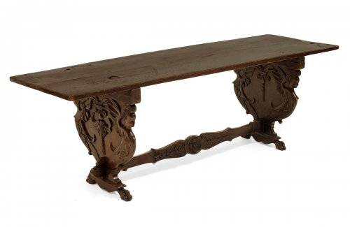 Florentine, Renaissance period refectory table
