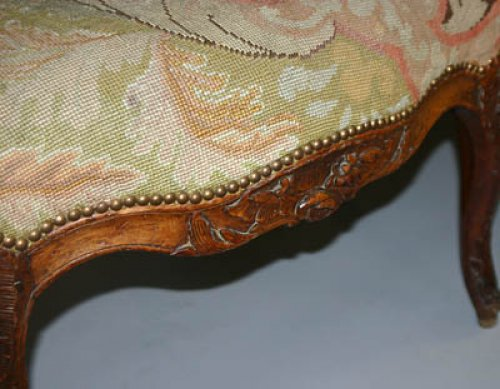 French, Regence period canapé a oreilles - Seating Style French Regence