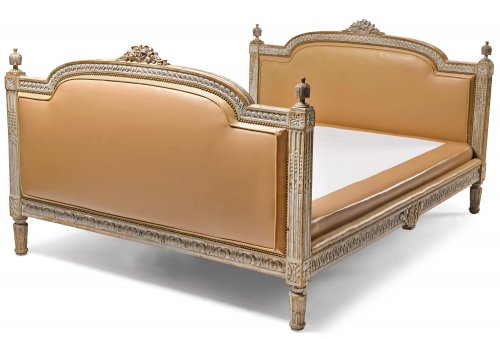 French, Louis XVI period painted bed