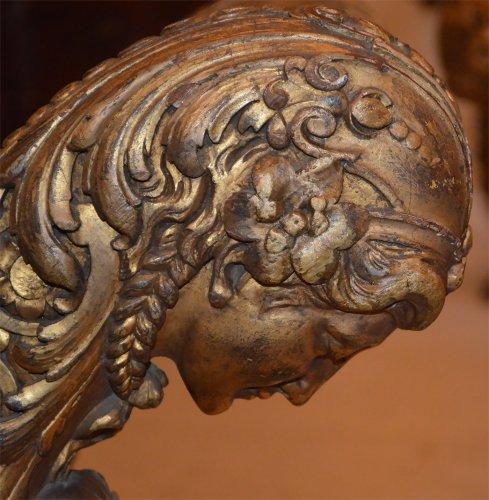 Seating  - Pair of Italian, Empire period curule seats