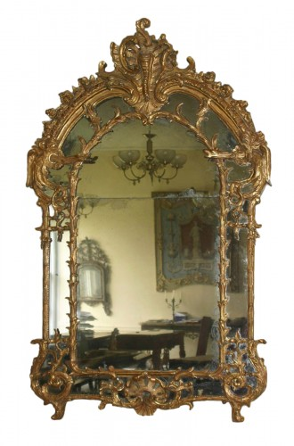 French, Regence period mirror