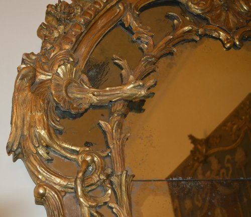 French, Regence period mirror -