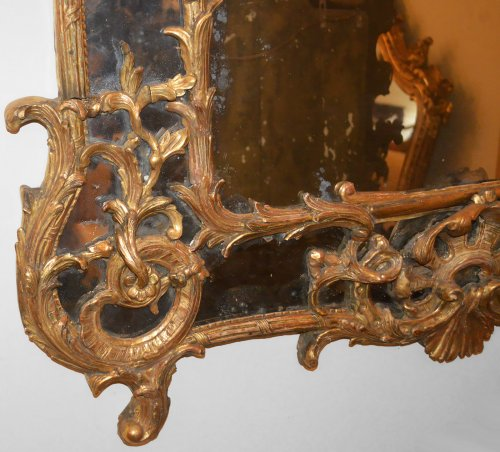 18th century - French, Regence period mirror