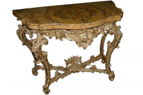 Roman, Rococo period console table
