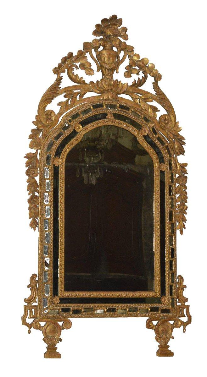 Italian Neoclassical Period Mirror A Parcloses Ref 62529
