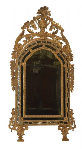 Italian, Neoclassical period mirror a parcloses
