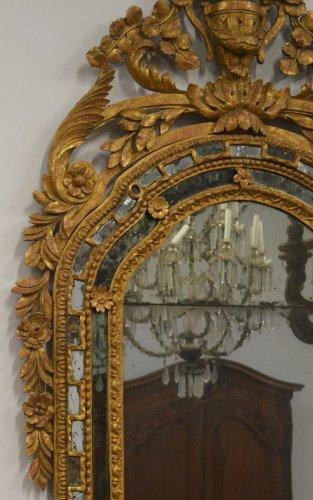 Mirrors, Trumeau  - Italian, Neoclassical period mirror a parcloses
