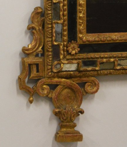 Italian, Neoclassical period mirror a parcloses -
