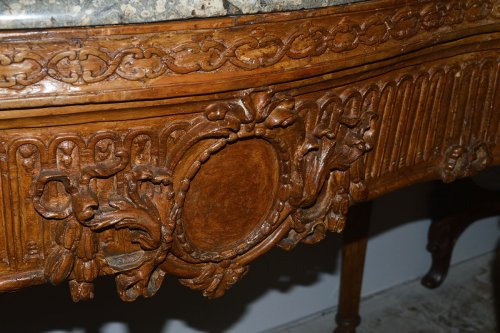 Furniture  - Large, Italian, Louis XVI period carved console