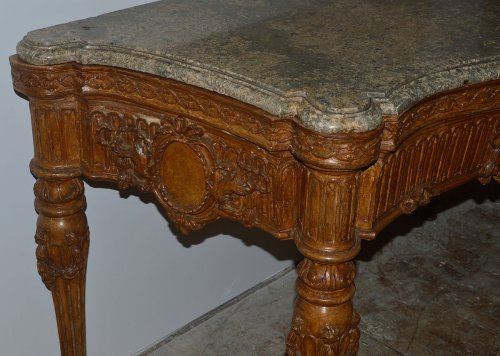 Large, Italian, Louis XVI period carved console -