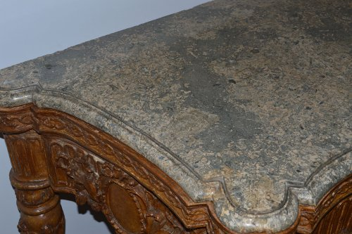 Louis XVI - Large, Italian, Louis XVI period carved console