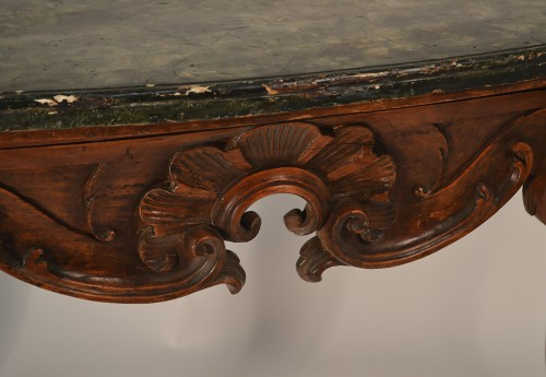 Grande Console Italienne d'epoque Regence - Furniture Style French Regence