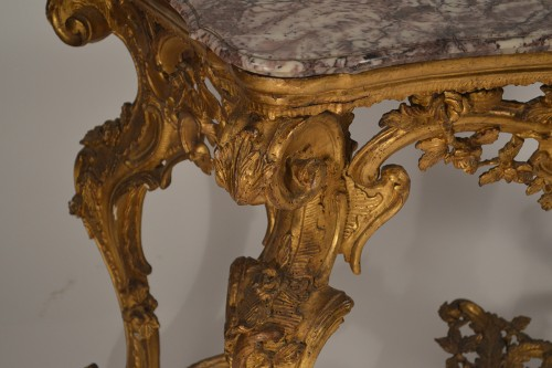 Furniture  - Genoese, Rococo period console table
