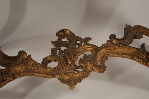 Genoese, Rococo period console table -