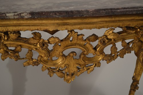 18th century - Genoese, Rococo period console table