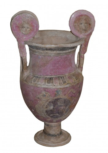 Ancient Canosan volute krater of large dimension