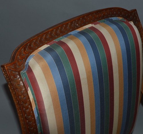 Seating  - Pair of Louis XVI period fauteuils
