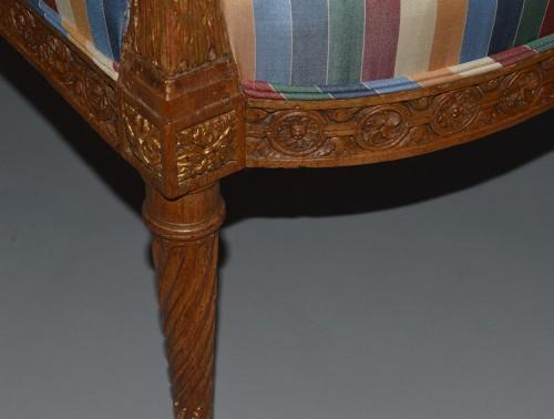 Pair of Louis XVI period fauteuils -