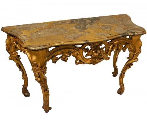 French, Louis XV-XVI Transition period console