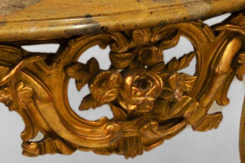 French, Louis XV-XVI Transition period console - Furniture Style Transition