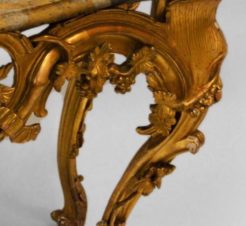 Furniture  - French, Louis XV-XVI Transition period console