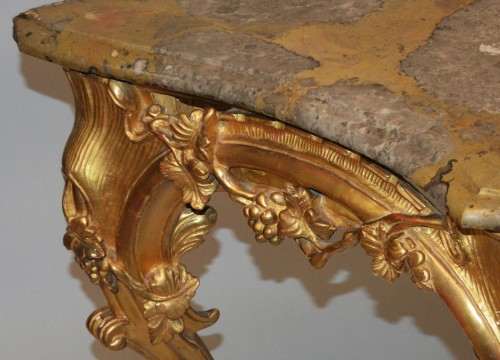 French, Louis XV-XVI Transition period console -