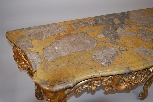 18th century - French, Louis XV-XVI Transition period console