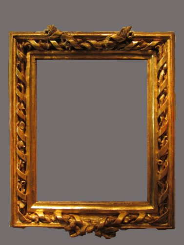 An important Spanish Neoclassical frame, late XVIIIth century
