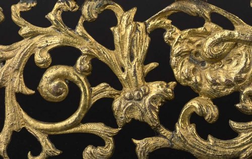 Antique Silver  - A gilt bronze plaquette, XVIth-XVIIth century