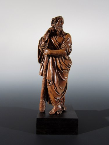 Saint James the Less and Aaron, Flemish School, XVIIth century - Sculpture Style