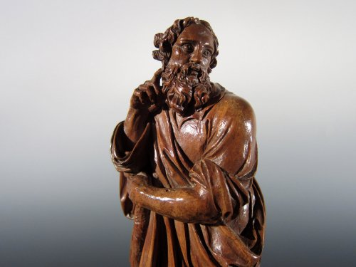 Sculpture  - Saint James the Less and Aaron, Flemish School, XVIIth century