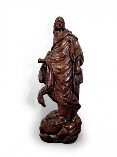 Saint John Evangelist, North of France or Netherlands, circa 1600