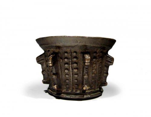A Gothic bronze mortar, circa 1500