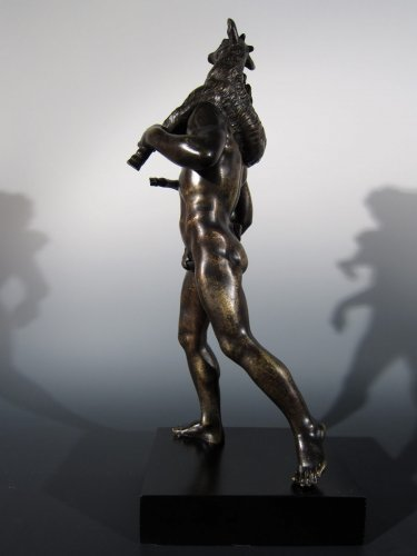 Faun with goat, France or Italy, circa 1800, after the Antique -