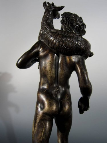 - Faun with goat, France or Italy, circa 1800, after the Antique