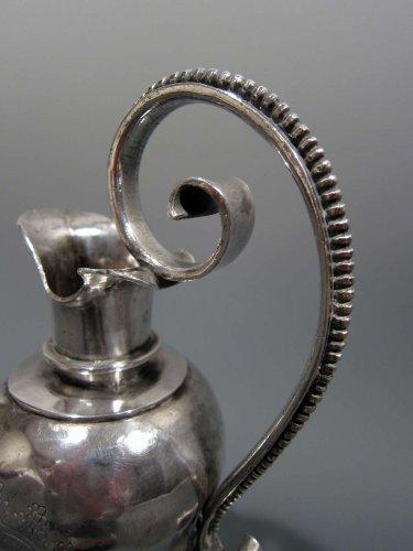 Antique Silver  - Heraldic silver cruet, circa 1600