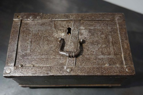 A Nuremberg casket with etched decoration, circa 1600 -