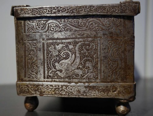16th century - A Nuremberg casket with etched decoration, circa 1600