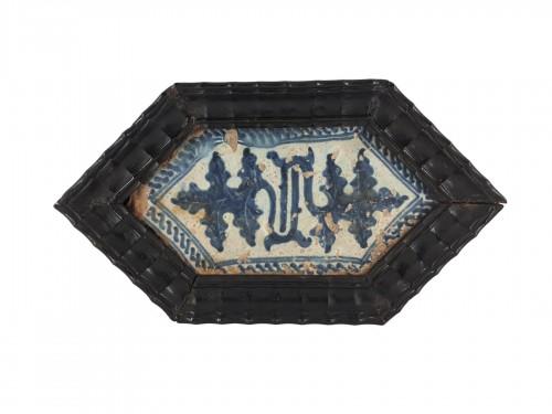 Carreau gothique, Manises XVè siècle