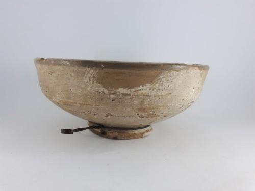 Hispano-moresque bowl with blue decoration, Paterna-Manises circa 1400 -